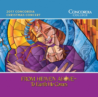Cde3658 2017 Christmas Concert Cd From Heaven Above To Earth He Comes