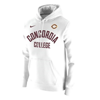 Hs544a Nike Fleece Hooded Sweatshirt
