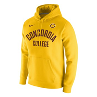 Hs544b Nike Fleece Hooded Sweatshirt