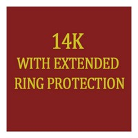 L14k Erp Ladies With Extended Ring Protection