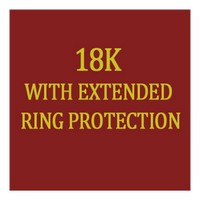 L18k Erp Ladies With Extended Ring Protection