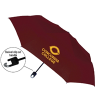 Nv124 Folding Umbrella With Clip On Handle