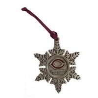 Orn-15B Pewter Snowflake Ornament