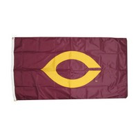 Pn-05A 3X5 Flag W/Gromments & Large C Twill Logo