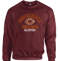 Ss191 Alumni Crewneck Sweatshirt With Embroidery And Applique