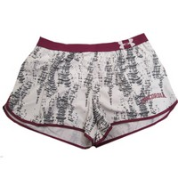 Sh93 Under Armour Ladies Short With Built In Brief