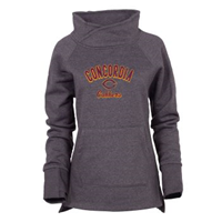 Uf401 Ladies Cozy Funnel Neck Pullover Fleece