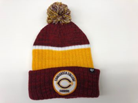 Ww125 47 Brand Knit Hat With Woven Patch