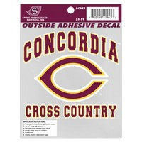 Auto54 Cross Country Auto Decal 4.75X4.75