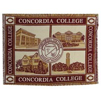 "Bkt-03A Concordia Seal 54""X70"" Afghan"
