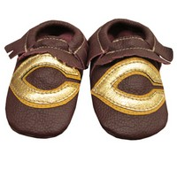 Ch152 Baby Leather Moccasin Size 12-18M
