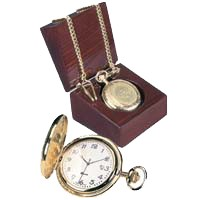 Csi-01 Gold Pocket Watch