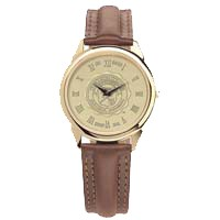 Csi-02 Mens Wrist Watch Brown Leather