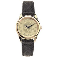 Csi Ladies Watch Black Leather Strap