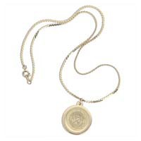 Csi-06 Gold Charm Necklace
