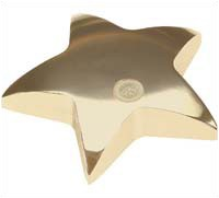 Csi-14 Star Shaped Paperweight