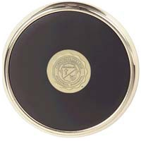 Csi-15 Single Brass Coaster