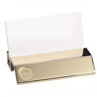 Csi-18 Gold Business Card Holder