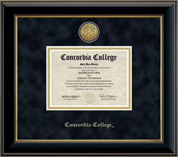 Dip-3Ba Engraved Black/Gold Frame Suede Mat (SKU 1061986522)