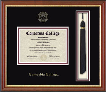 Dip-6Ba Embossed Tassel Box Newport Frame Blackmat (SKU 1061989622)