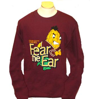 Ls-68 Fear The Ear Imprint Long Sleeve (SKU 1052739947)