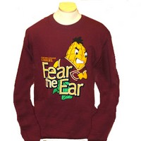 Ls-68 Fear The Ear Imprint Long Sleeve
