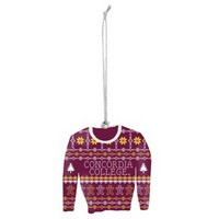 Orn35 Ugly Sweater Christmas Ornament