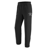 Pt129 Nike Cotton Fleece Pant With Elastic Banded Bottom And Side Pockets