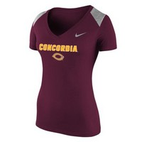 Ts510 Nike Ladies V-Neck Tee