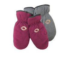 Ww-86 Fleece Mitten With Suede Palm